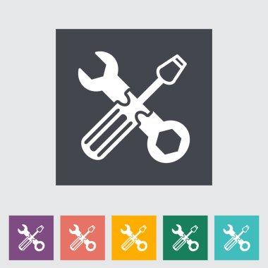 Repair flat icon.