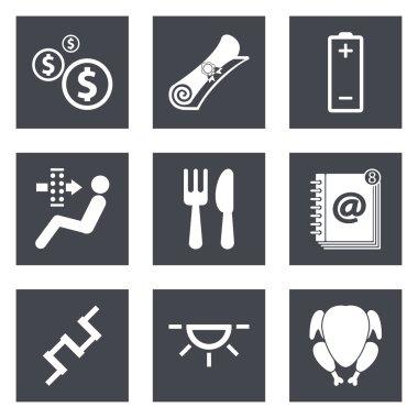 Icons for Web Design set 16