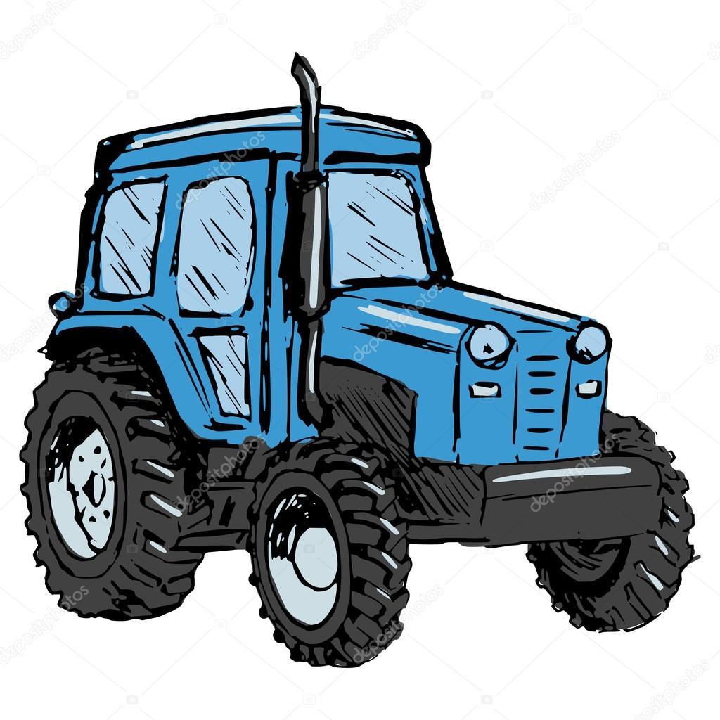 Traktor Stock Vektor C Perysty 39435657