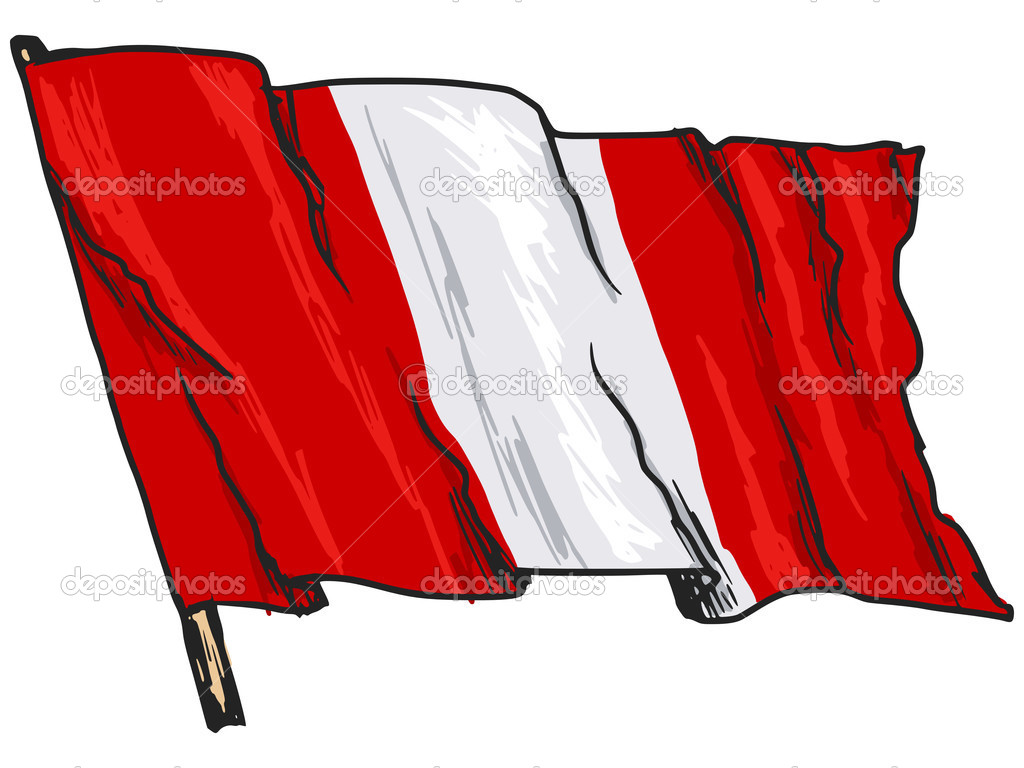 Flag Of Peru Stock Vector C Perysty 48518169