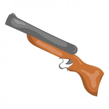 Cartoon gun. eps10