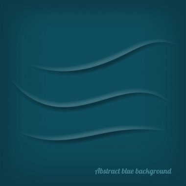 Abstract blue background with scratches