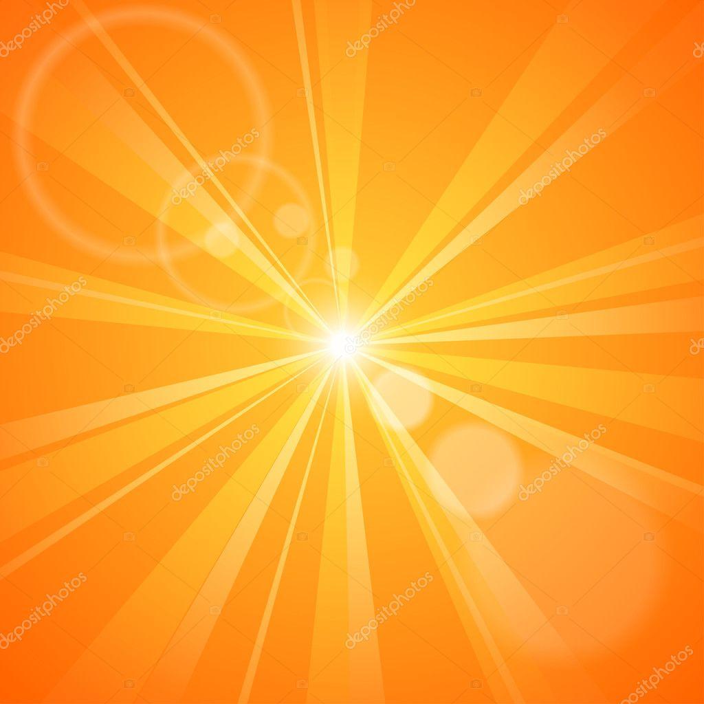 Картинки солнце с лучами