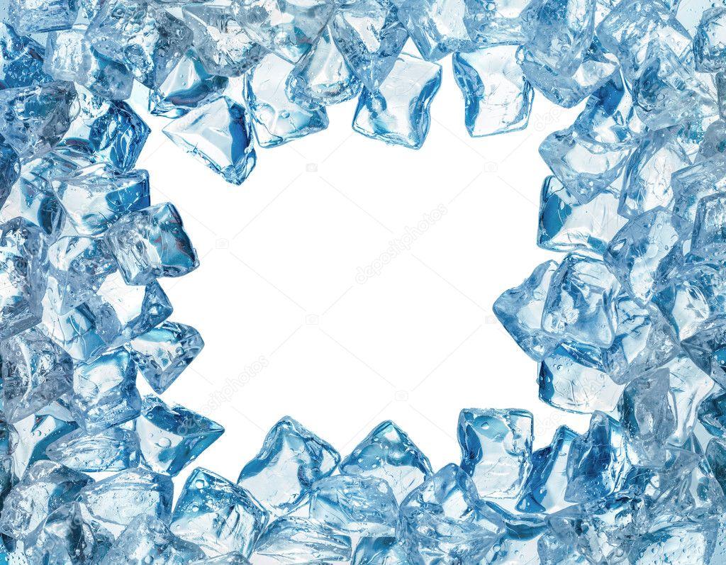 Ice frame — Stock Photo © smaglov #21814851