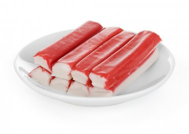 Fresh crab sticks