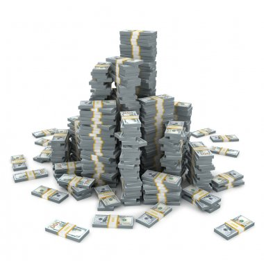 Big pile of the money