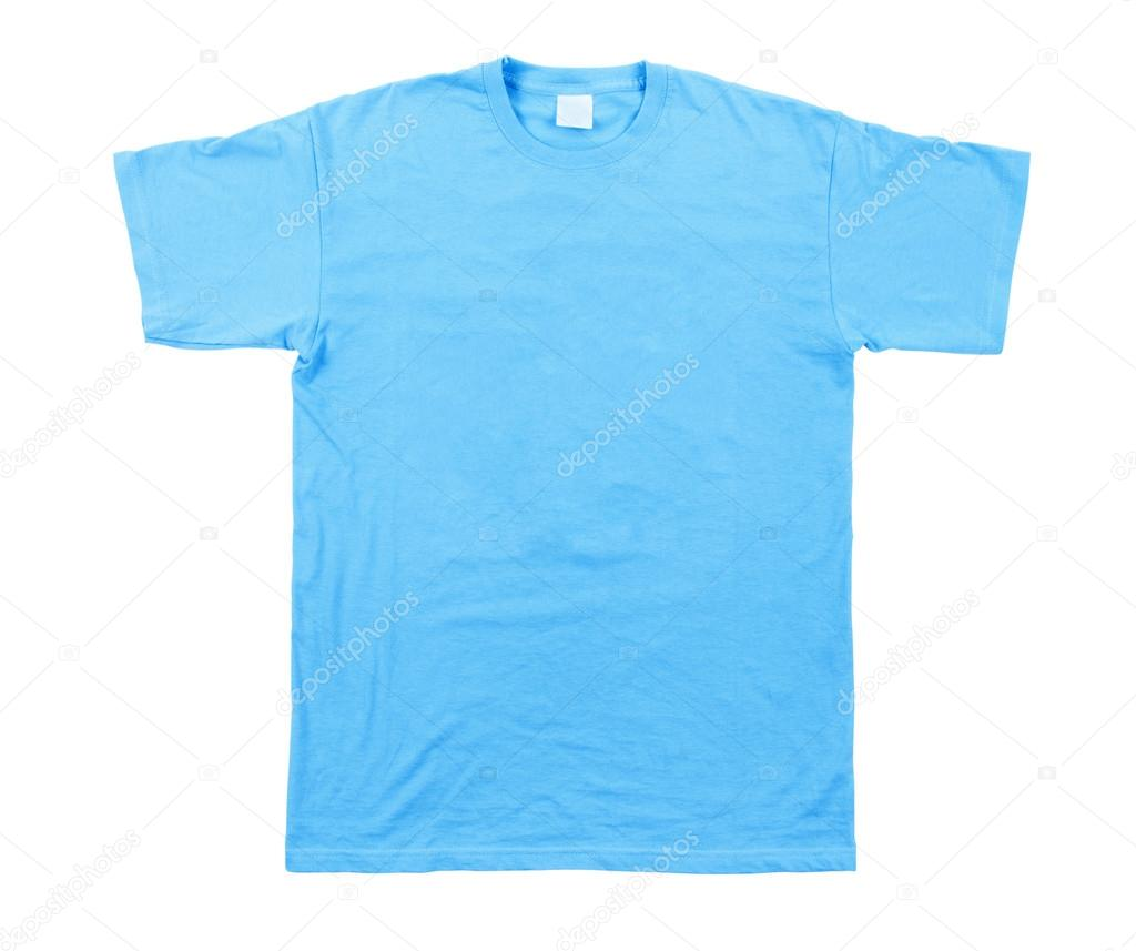 Blue Tshirt Template Stock Photo Urfingus 42865321