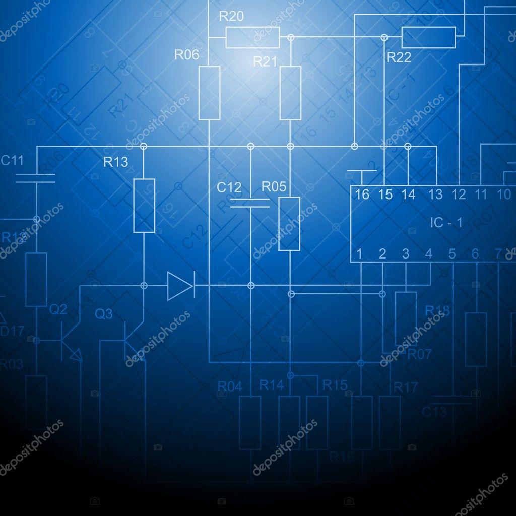Schemi Elettrici Programma Gratis : Sfondo schema elettrico u2014 vettoriali stock © saicle #12173269