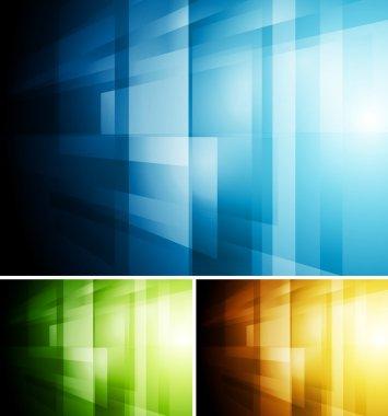 Abstract hi-tech vector backdrop
