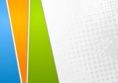 Colourful elegant vector background