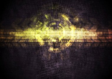 Bright grunge abstract background