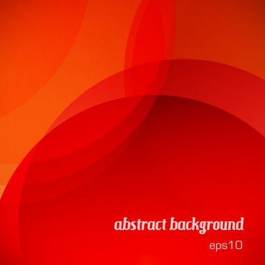 Abstract red background clip art vector