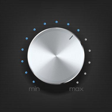 volume icon on dark