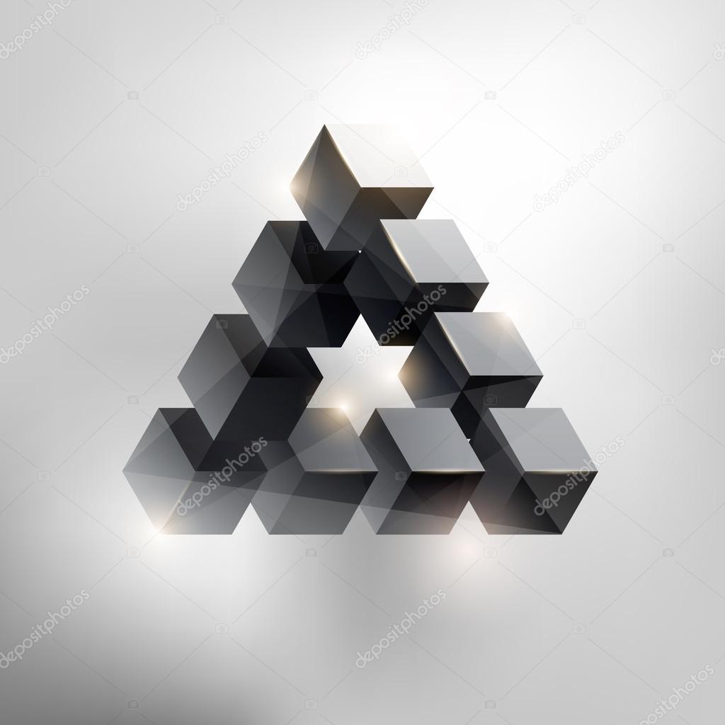 Geometric form. — Stock Vector © theromb #17030197