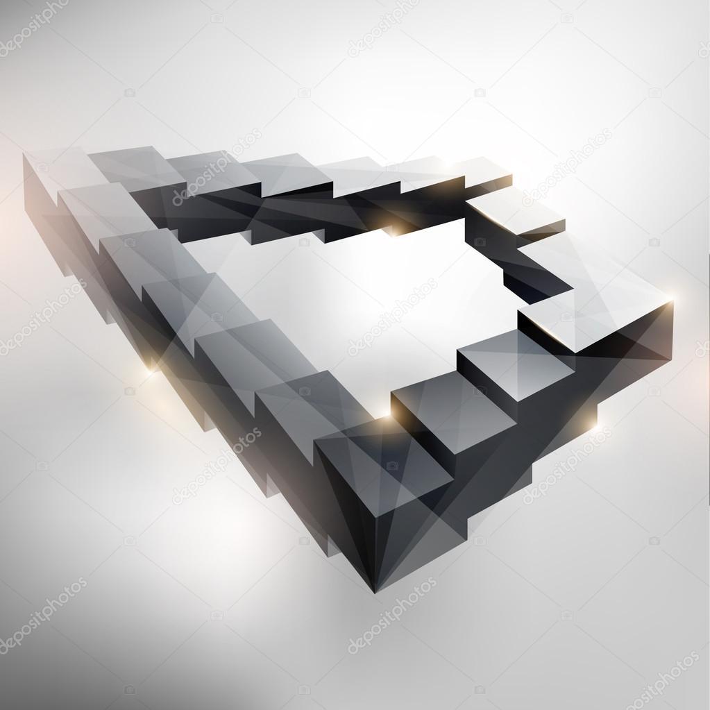 Endlose treppe stockvektor theromb 48929239 for Escaleras infinitas