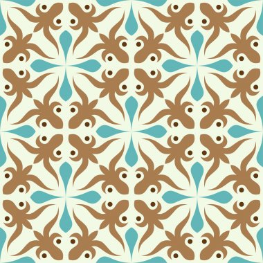 Seamless curves pattern