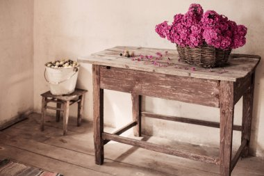 Old rustic room