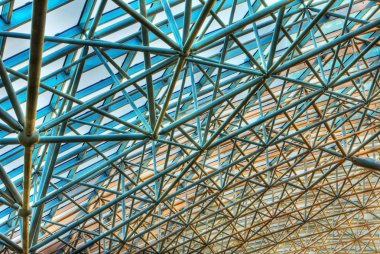 fragment background futuristic roof