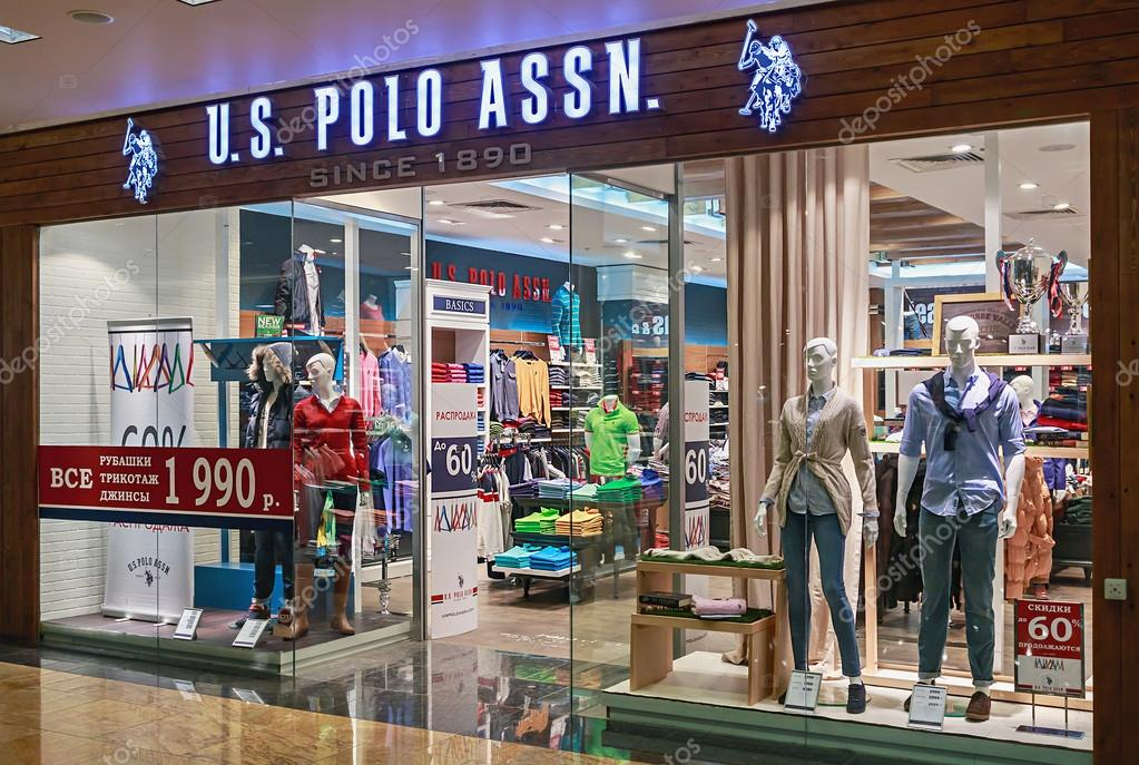US Polo ASSN Store clothes in the mall Metropolis – Stock Editorial ... 5ad6bdd3f5
