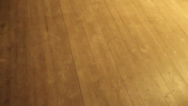Podlaha se stopami