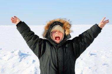 Boy in the Winter