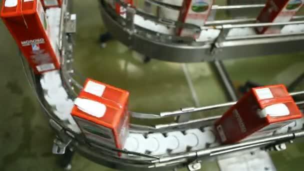 výrobní linka, balení potravin