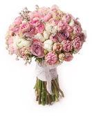Fotografie Svatební kytice růže Bush, Pryskyřník asiaticus