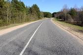asfaltová silnice venkově