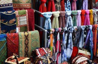Rug fabric at market