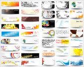 Mix collection bannery a vizitek