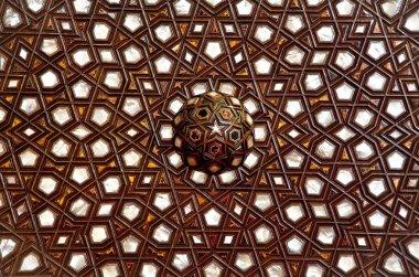 Sultanahmet Blue mosque interior - detail
