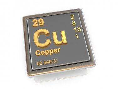 Copper. Chemical element.