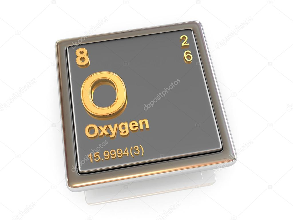 Oxygen chemical element stock photo tatiana53 25881327 oxygen chemical element 3d photo by tatiana53 buycottarizona Choice Image