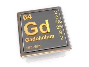 Gadolinium. Chemical element.