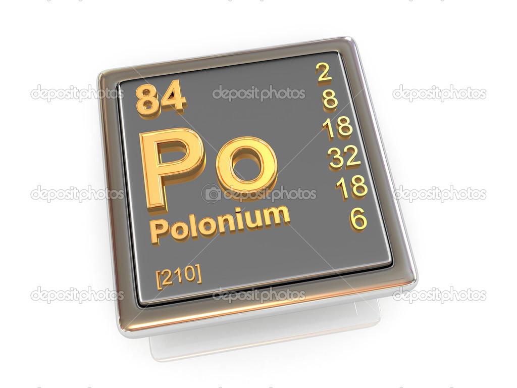polonium chemical element stock photo tatiana53 25941911