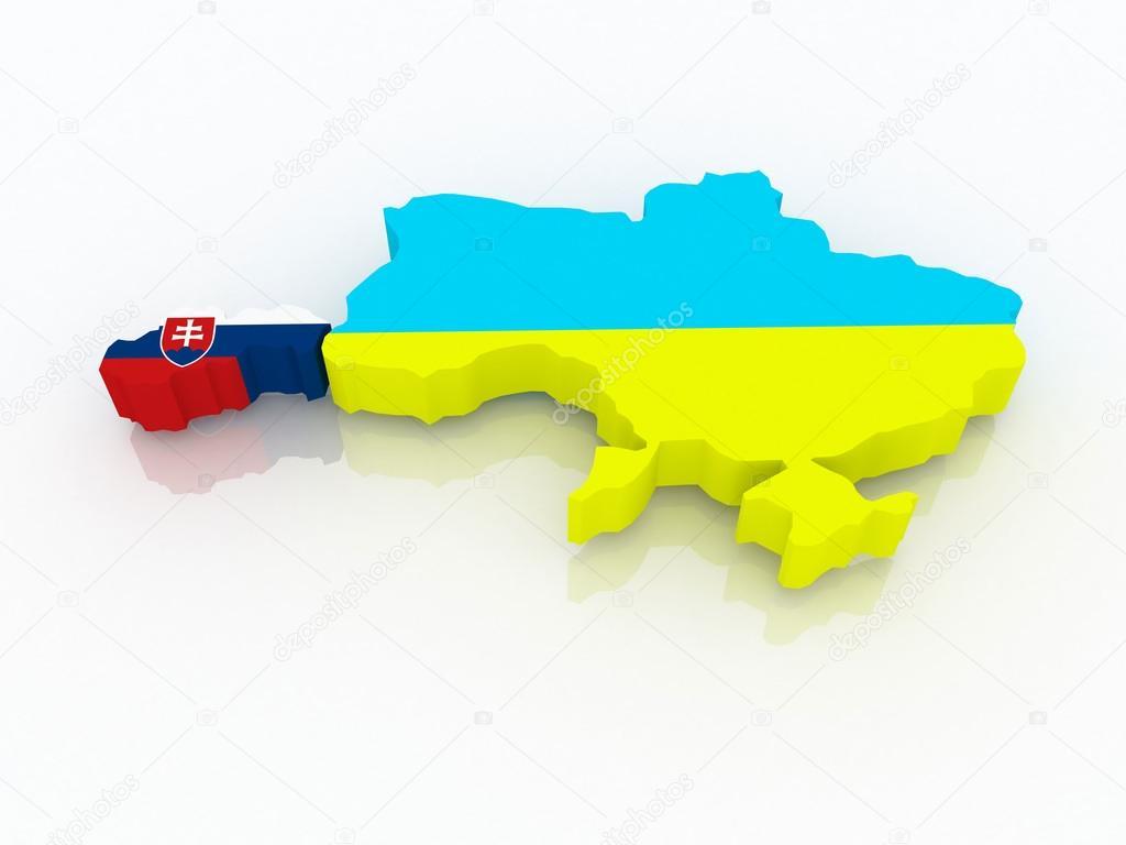 Карта словакии и украины отзывы о поездках от фирмы балтик экзотик поездки в словакию