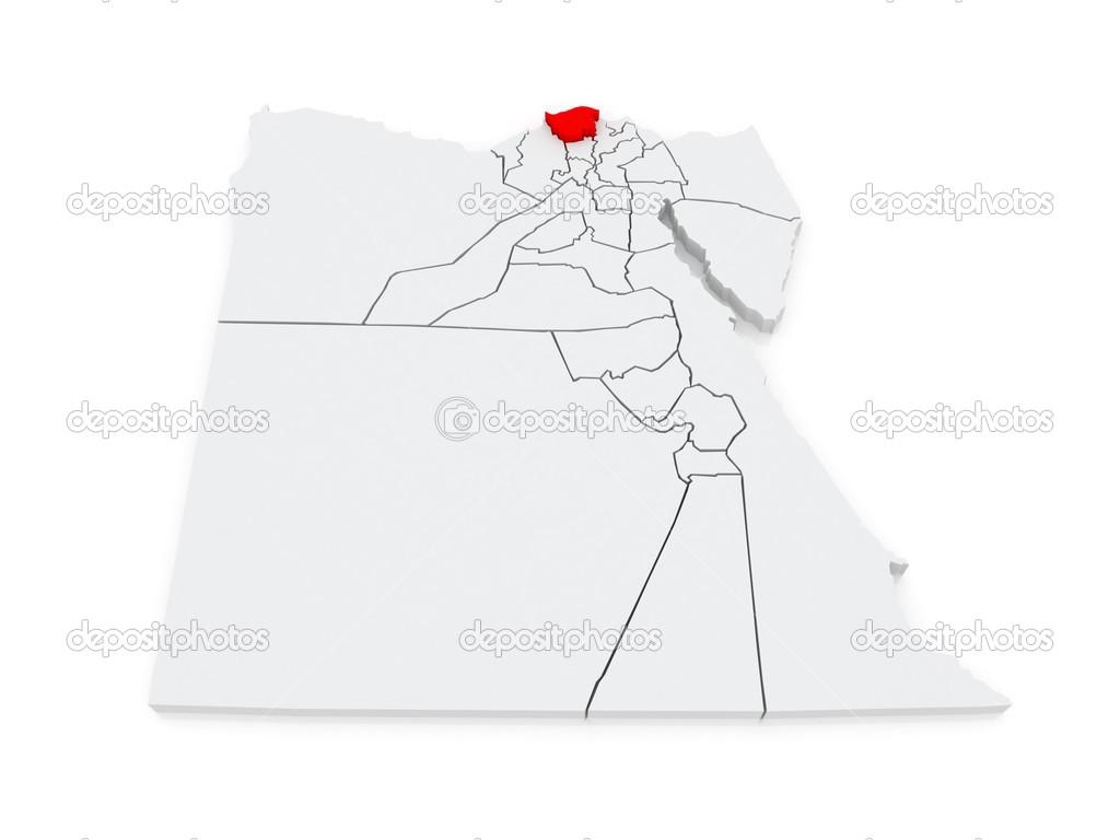 カフル ・ アッシャイフの地図。...