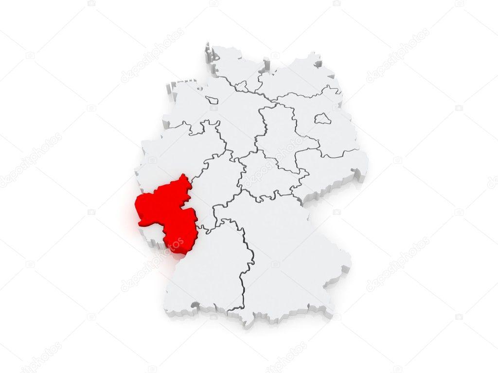 Map Of Rheinland Pfalz Germany Stock Photo C Tatiana53 48820721