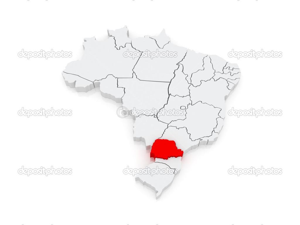 paraná brasil mapa mapa do Paraná. Brasil — Stock Photo © Tatiana53 #48823207 paraná brasil mapa