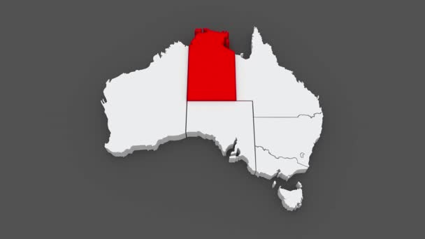 Map Of Australia Video.Map Of Australia