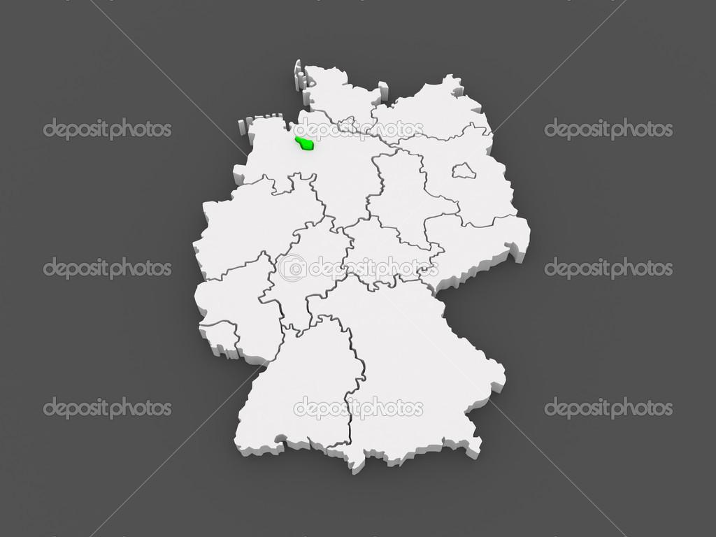 Map Of Bremen Germany Stock Photo C Tatiana53 49591727