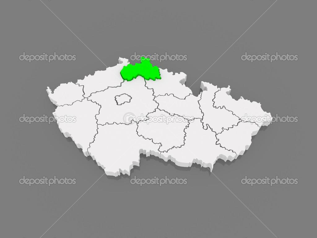 Map Of Liberec Czech Republic Stock Photo C Tatiana53 49593329