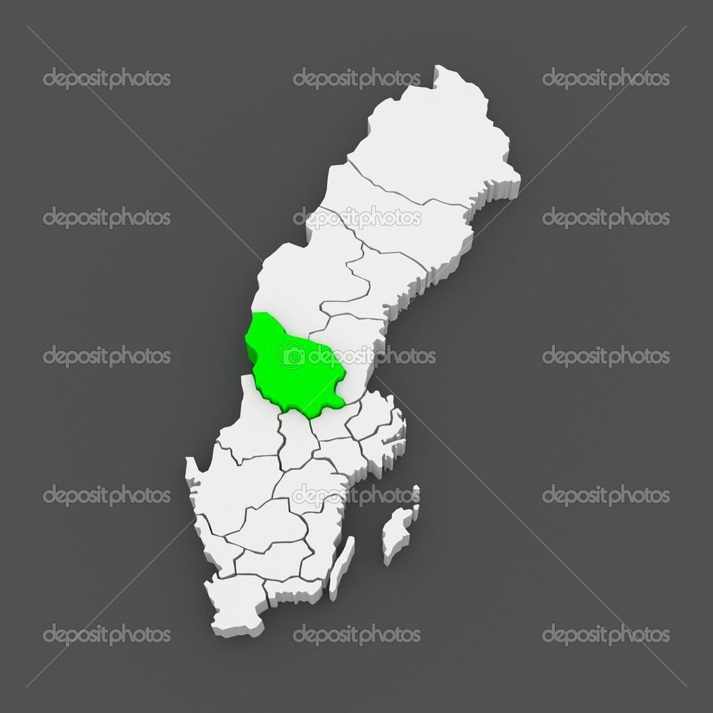 Map Of Falun Sweden Stock Photo C Tatiana53 49594699