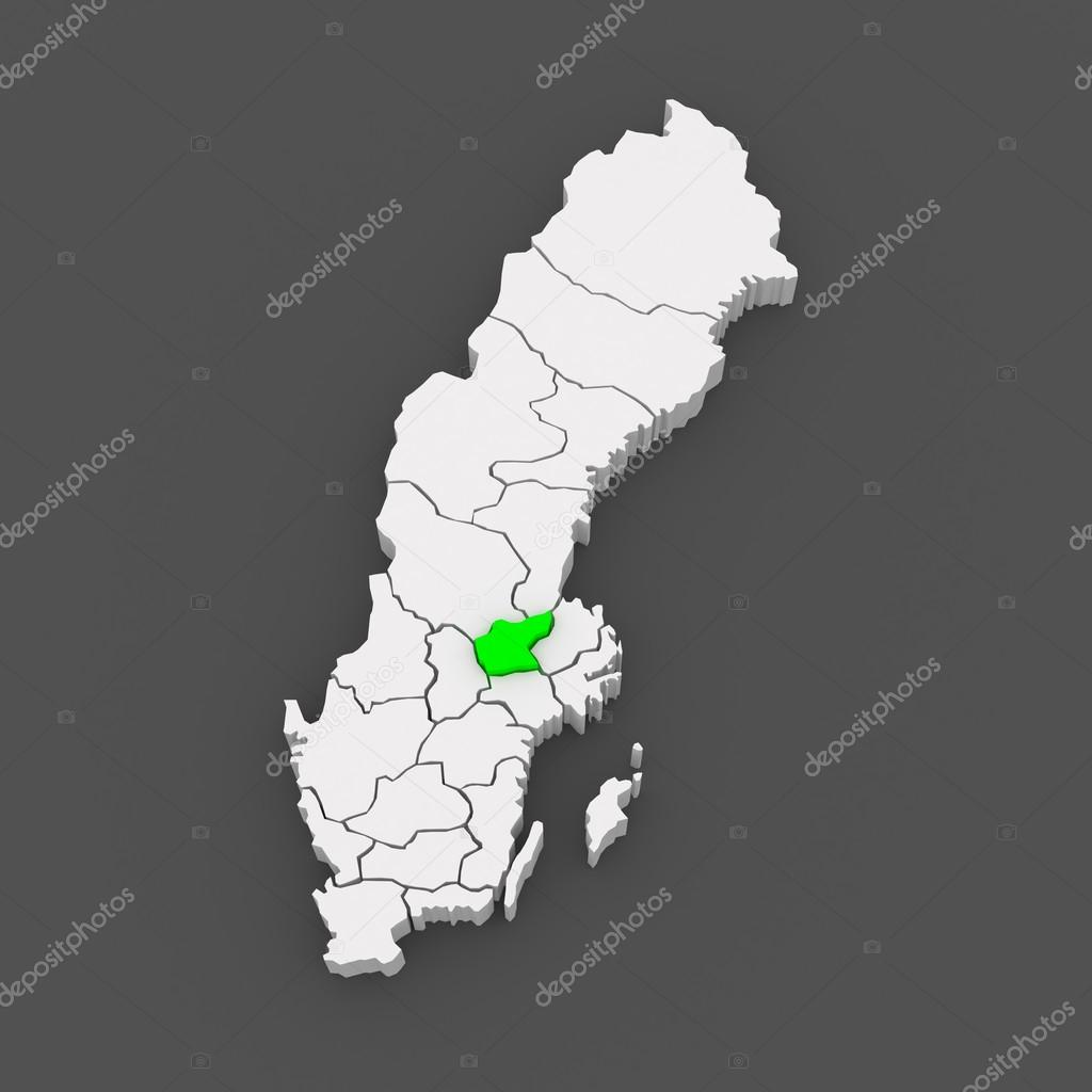 Map of Vasteras Sweden Stock Photo Tatiana53 49596101