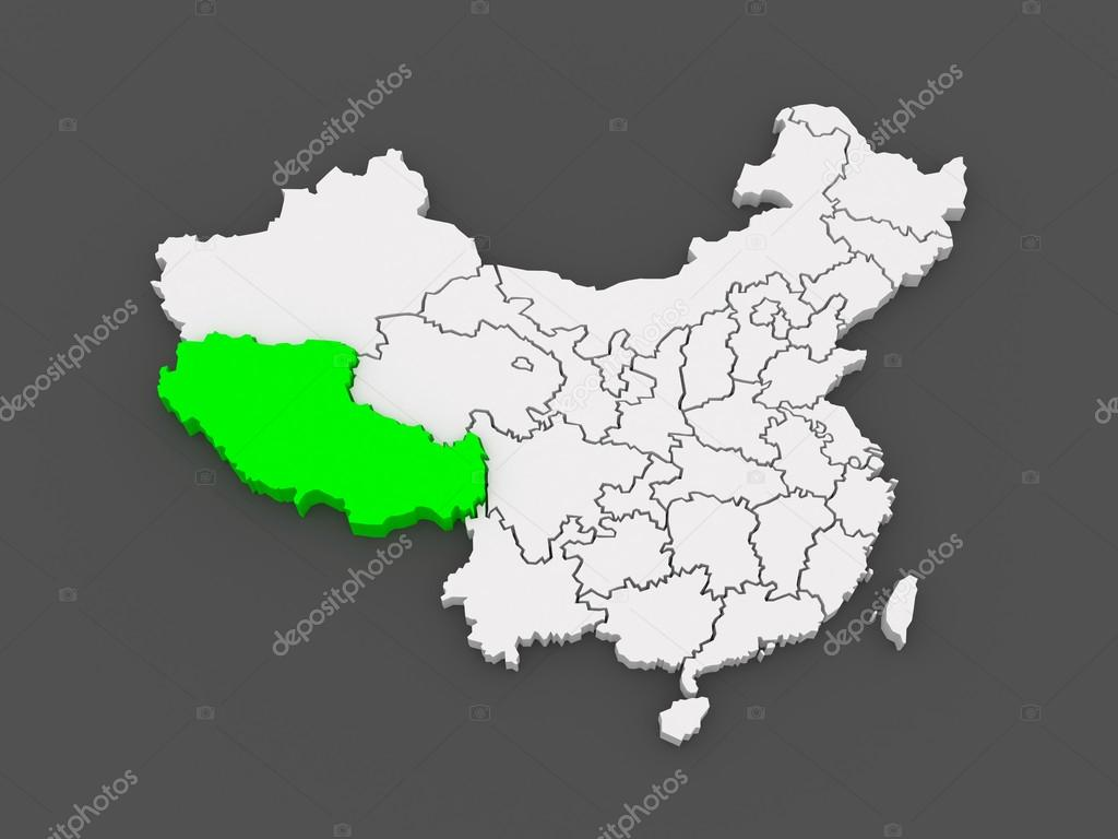 karta över tibet karta över tibet. Kina — Stockfotografi © Tatiana53 #49596765 karta över tibet