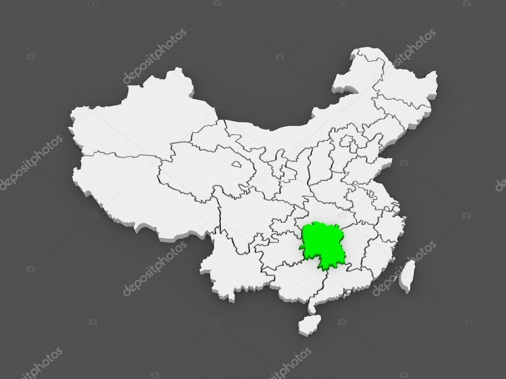 Carte Chine Hunan.Carte Du Hunan Chine Photographie Tatiana53 C 49601771