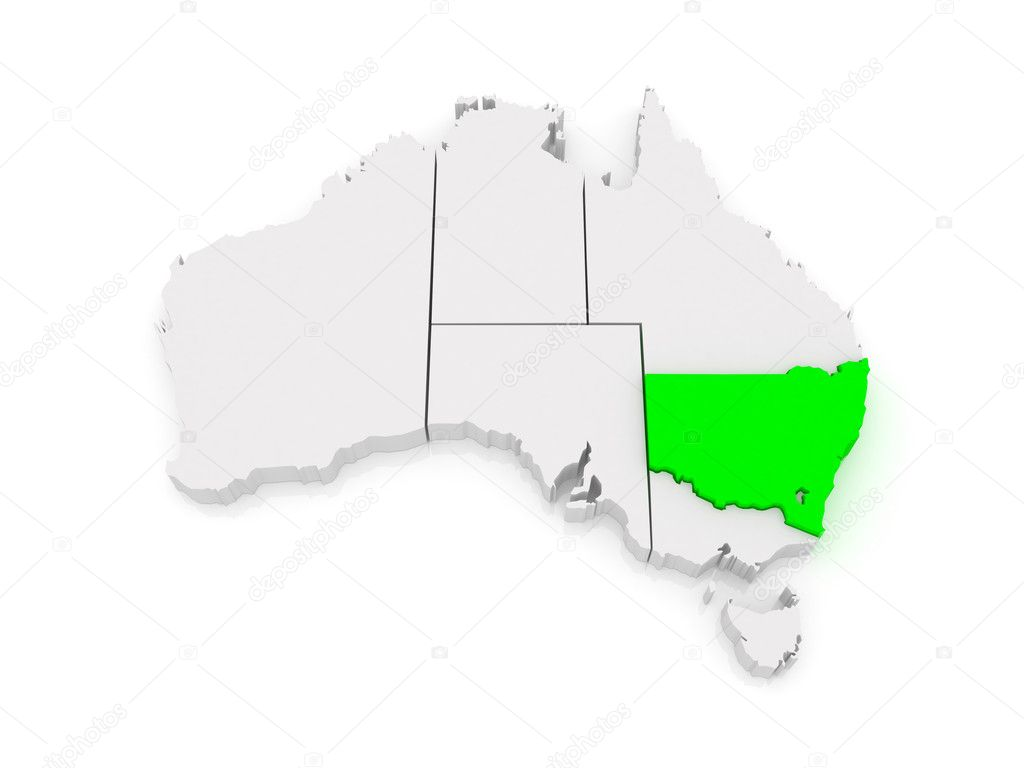 Picture of: Map Of New South Wales Australia Stock Photo C Tatiana53 49830347
