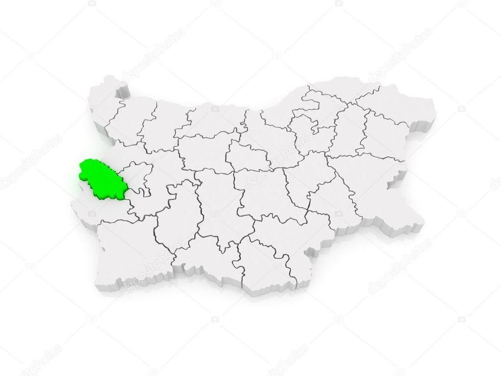 Karta Oblasti Pernik Bolgariya Stokovoe Foto C Tatiana53 49832977
