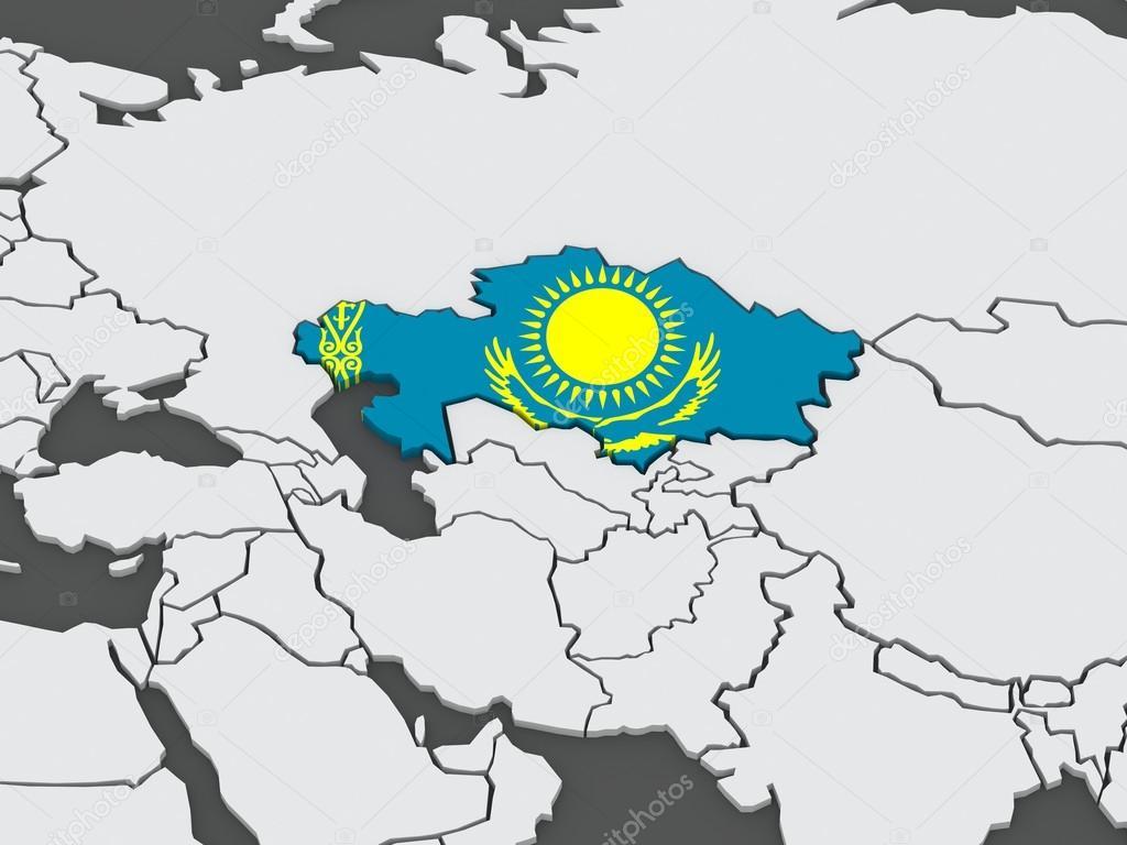 картинки карта мира казахстан представлены
