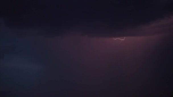 vihar és villámlás